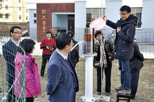 局长刘学峰的带领下,对青海省山洪灾害防治县级非工程措施及中小河流